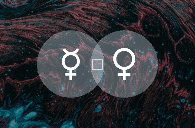 Mercury Square Venus