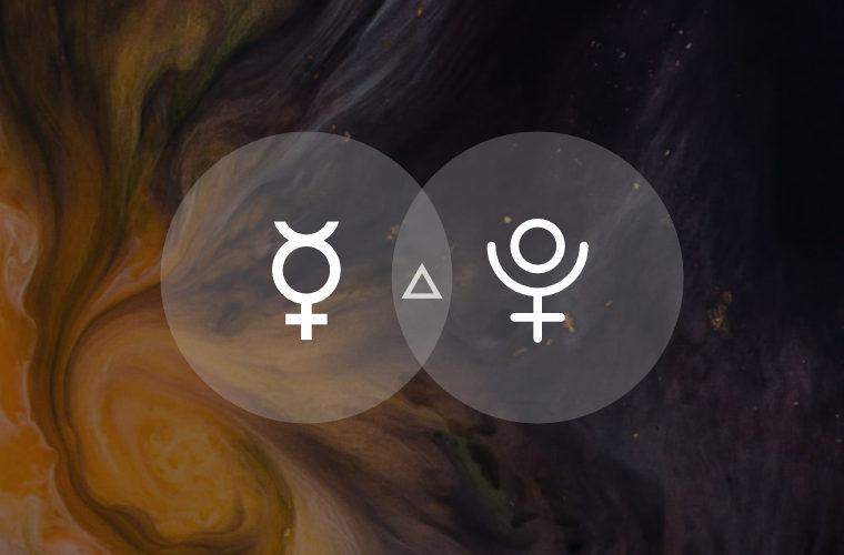 Mercury Trine Pluto