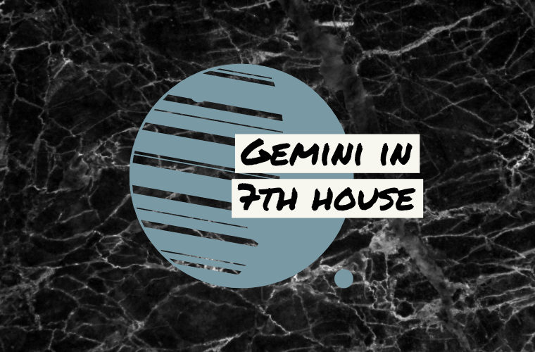 Gemini in 7th house