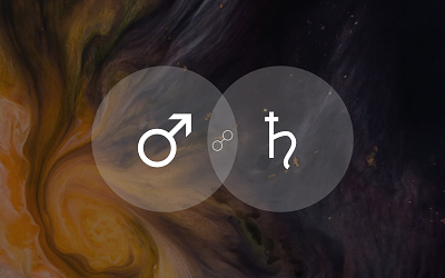 Mars Opposite Saturn