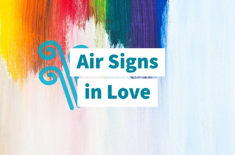 Air signs in love
