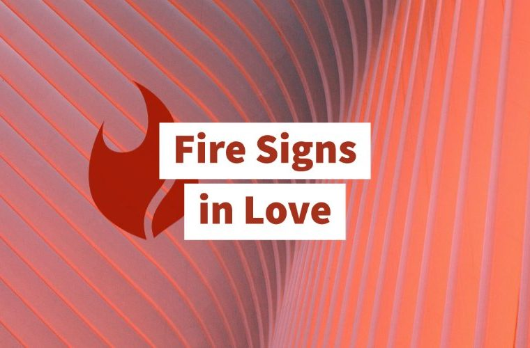 Fire signs in love