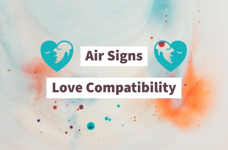 Love compatibility between air signs