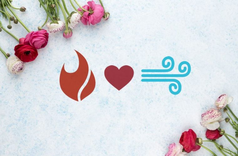 Love compatibility between fire and air signs