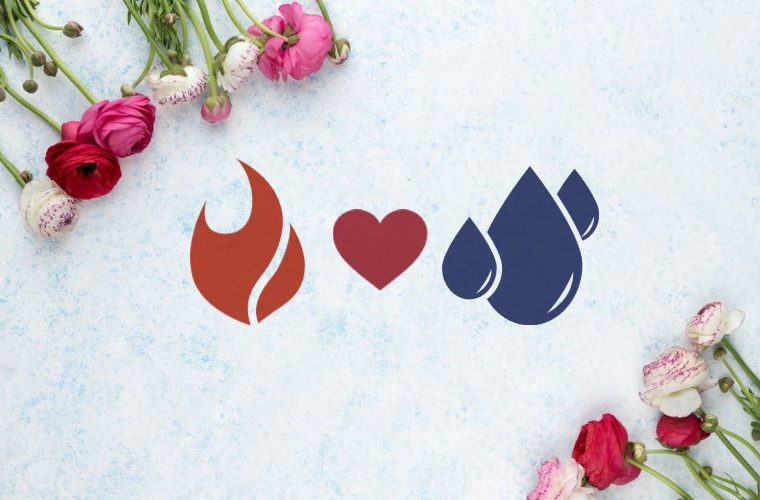 Love compatibility between fire and water signs