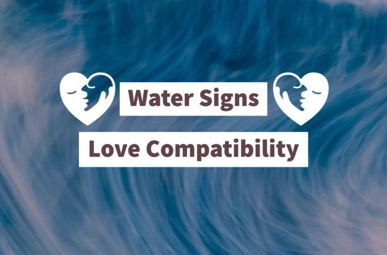 Love compatibility between water signs