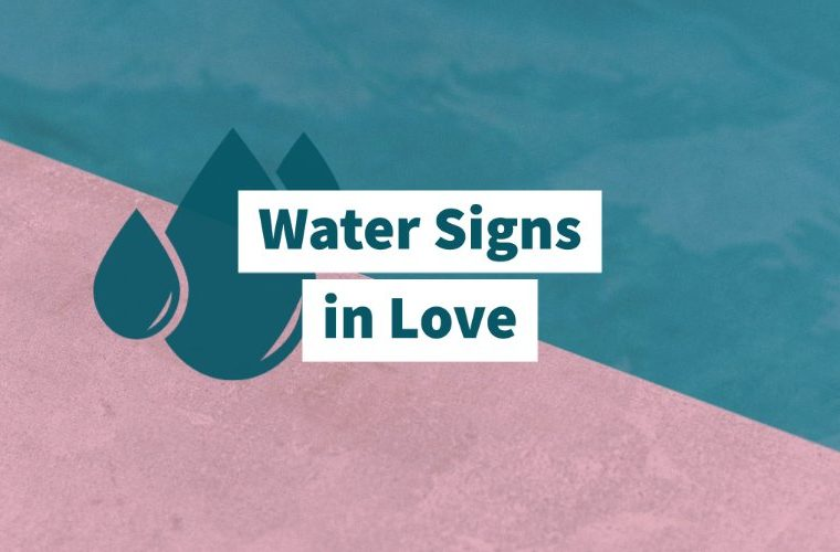Water signs in love