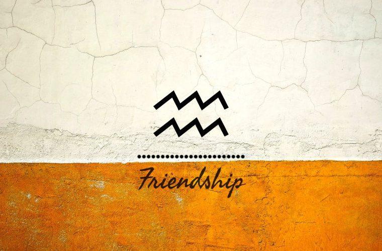 Aquarius Friendship