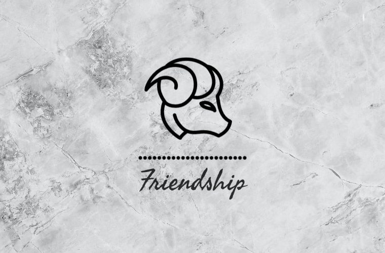 Aries Friendship