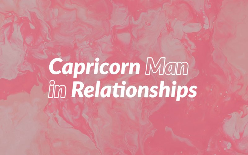 Capricorn wants marry know a to if man you to 20 Unmistakable